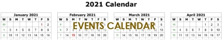 Click on the image to view our Google Church Events calendar